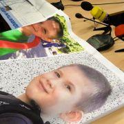 Suche nach kleinem Elias: Helfer baggern Flüsschen aus (Foto)