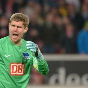 Torhüter Kraft ist stinksauer auf kiffende Hertha-Fans (Foto)