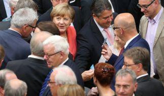 Angela Merkel konnte sich durchsetzen. (Foto)