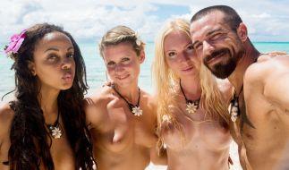 """Bahati Venus (links) suchte ihr Glück bei """"Adam sucht Eva"""". (Foto)"""