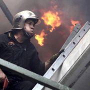 Flammeninferno rund um Athen - Tourist stirbt (Foto)