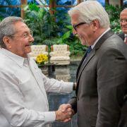 Steinmeier ermutigt Kuba zu Reformen (Foto)