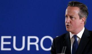 David Cameron will gegen den Islamischen Staat vorgehen. (Foto)