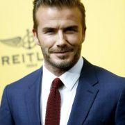David Beckham: Er hat einen zwanghaften Hang zur Ordentlichkeit.