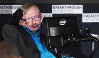 """Physiker Stephen Hawking macht sich für das Projekt """"Breakthrough Listen"""" stark, das außerirdischem Leben im All nachspürt. (Foto)"""