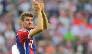 Begehrt: Manchester United soll für Bayern Münchens Thomas Müller ein Angebot von bis zu 100 Mio. gemacht haben. (Foto)