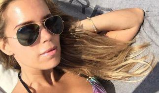 Sylvie Meis urlaubt auf Ibiza. (Foto)