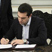 Nächste Kraftprobe für Tsipras am Abend (Foto)