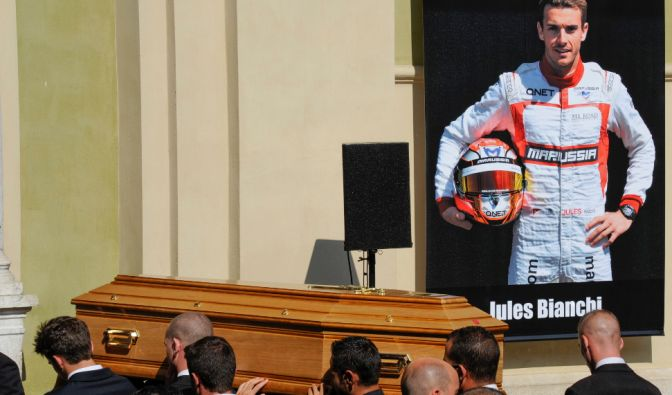 Jules Bianchi: Formel 1 trauert