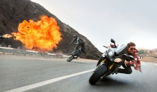 "Tom Cruise mimt in ""Mission: Impossible - Rogue Nation"" wieder Ethan Hunt. (Foto)"