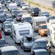 Stau auf der Autobahn: Hier gibt's stockenden Verkehr und Stillstand (Foto)
