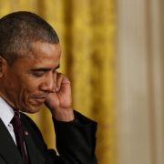 Obama dringt auf Verbleib Großbritanniens in der EU (Foto)
