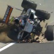 Horror-Unfall in der Formel 1: Perez überschlägt sich (Foto)
