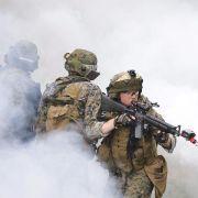 USA bilden zusätzliche Kräfte in der Ukraine militärisch aus (Foto)