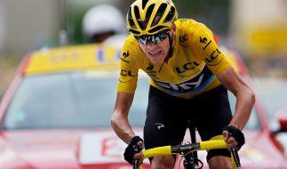 Christopher Froome steht als Sieger der 102. Tour de France bereits fest. (Foto)