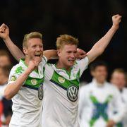 Wolfsburgs Kevin De Bruyne löst Manuel Neuer ab (Foto)