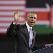 Obama redet Kenianern ins Gewissen (Foto)