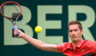 Florian Mayer aus Bayreuth steht beim ATP Turnier in Hamburg in Runde 2. (Foto)