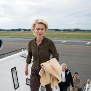 Leyen besucht Mali zur Kommandoübergabe bei EU-Mission (Foto)