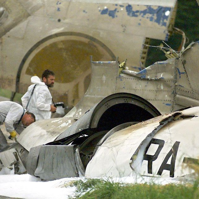 Wie kann es zu einer Flugzeugkollision kommen? (Foto)