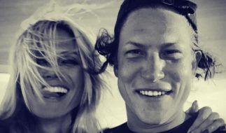 Urlaubs-Gruß von Heidi Klum und Vito zu seinem 29. Geburtstag. (Foto)