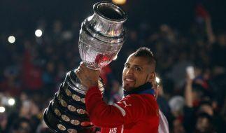 Bayerns neuer Superstar: Arturo Vidal. (Foto)