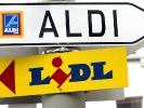 Der Konkurrenzkampf zwischen Aldi und Lidl verschärft sich. (Foto)
