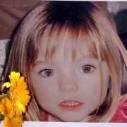 Das Foto vom 12. Mai 2007 zeigt die kleine Madeleine