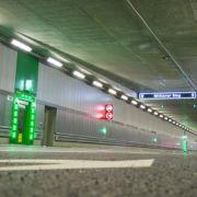 Sie glauben nicht, wie viele Blitzer in diesem Münchner Tunnel stehen (Foto)