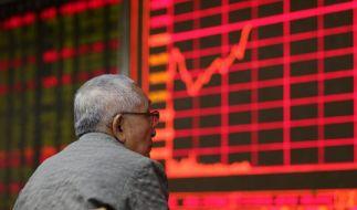 Chinas Börsen knicken weiter ein (Foto)