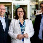 «Arbeiten 4.0»: Ministerin Nahles besucht Microsoft (Foto)