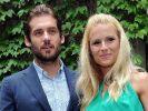 Michelle Hunziker und Tomaso Trussardi zeigen ihr Nachwuchs-Glück. (Foto)