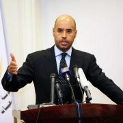 Todesstrafe für Gaddafi-Sohn in Libyen (Foto)