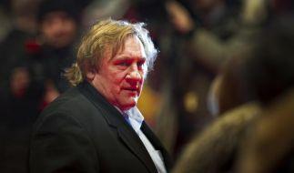 Gérard Depardieu ist in der Ukraine nun eine Persona non Grata. (Foto)