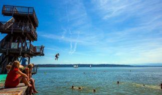 Deutschland freut sich über Sommerwetter - der Planet beklagt den Klimawandel. (Foto)