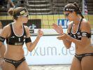 Guter EM-Start für die deutschen Beachvolleyballerinnen. (Foto)