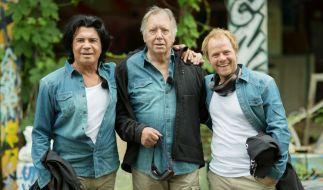 """In der ersten Show von """"Ich bin ein Star - Lasst mich wieder rein!"""" kämpften Costa Cordalis, Werner Böhm und Dustin Semmelrogge um den Wiedereinzug ins Dschungelcamp. (Foto)"""