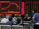 Chinas Aktienmärkte wieder im Minus (Foto)