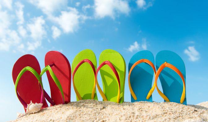 Der Flip-Flop-Kult scheint nicht abzubrechen: Jährlich werden mehr als 200.000 Flip-Flops verkauft. (Foto)