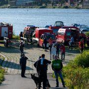 Taucher ziehen toten Familienvater aus der Elbe (Foto)