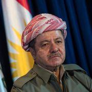 Kurden-Präsident Barsani mahnt Türkei und PKK zu Gesprächen (Foto)