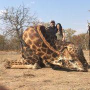 Skrupellose Jägerin postet Bild von getöteter Giraffe (Foto)