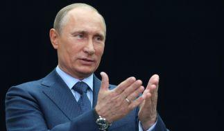 Wladimir Putin will Emojis mit homosexueller Symbolik verbieten. (Foto)