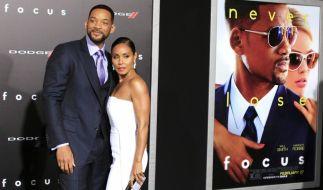 """Will Smith und Jada Pinkett Smith bei der Weltpremieres der Films """"Focus"""" am 24.02.2015 in Los Angeles. (Foto)"""