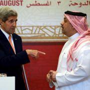 Kerry und arabische Verbündete: Iran-Deal stärkt Stabilität (Foto)