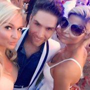 Heiße Party mit Playmate Mandy Lange und Christian Polanc (Foto)
