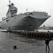 Paris zahlt Moskau Geld für «Mistral»-Kriegsschiffe zurück (Foto)
