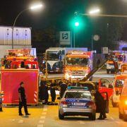 45 Menschen durch ätzende Lauge verletzt (Foto)