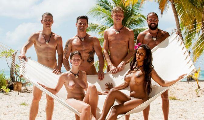 """Bei der RTL-Kuppelshow """"Adam sucht Eva"""" kommt das Ausziehen vorm Kennenlernen. (Foto)"""