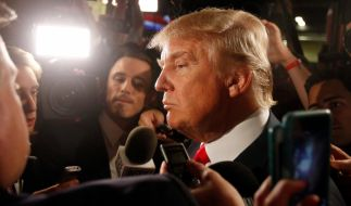 Donald Trump hält sich eine unabhängige Kandidatur für das Weiße Haus offen. Der Milliardär könnte somit einen Sieg sowohl für die Republikaner als auch die Demokraten verhindern. (Foto)